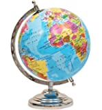 MOM'S GADGETS World Map Globe (8 Inch)