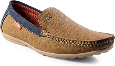 shoebox Men's Tan Loafer Shoes