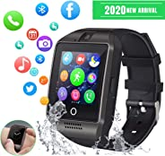 Smart Watch Sport SmartWatch Bluetooth Smart Watch per Android iOS Cellulare Watch con slot per schede SIM TF Fitness Tracke