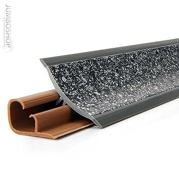 150cm Küchenabschlussleiste Küchenleiste Wandabschlussleiste -- 23 ... | {Küchenleisten für arbeitsplatte 26}