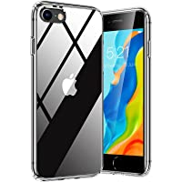TORRAS Diamond Series für iPhone 7/8/SE 2020 Hülle (Vergilbungsfrei) Extrem Transparent iPhone SE Hülle/iPhone 8 Hülle…