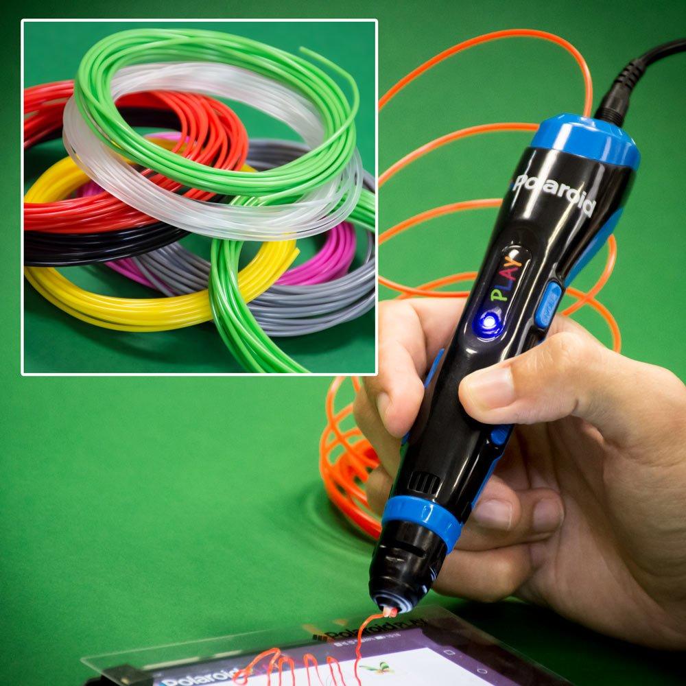 Polaroid-Jeu-3d-Pen-Menkind-Bundle-exclusif-avec-Extra-Filament-Packs