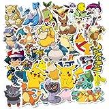 Pokemon Cartoon Pikachu Psyduck Bullet Magazine Decoratie Briefpapier Sticker Scrapbook Sticker Dagboek Album Sticker Label