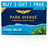 Park Avenue Cool Blue Fragrant Soap, 125g (Buy3 Get 1 Free)