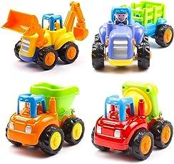 higadget Unbreakable Automobile Car Toy Set ( 4 Toys )