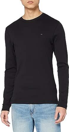 Tommy Jeans Men's Original Rib Long Sleeve Top