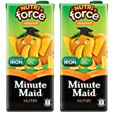 Minute Maid Nutriforce Mixed Fruit Tetra Pack, 1 L (Pack of 2)