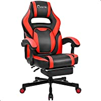 BASETBL Chaise Gaming, Fauteuil Gamer, Chaise de Course Ergonomique, Fauteuil PC Professionnel, Dossier Inclinable, avec…
