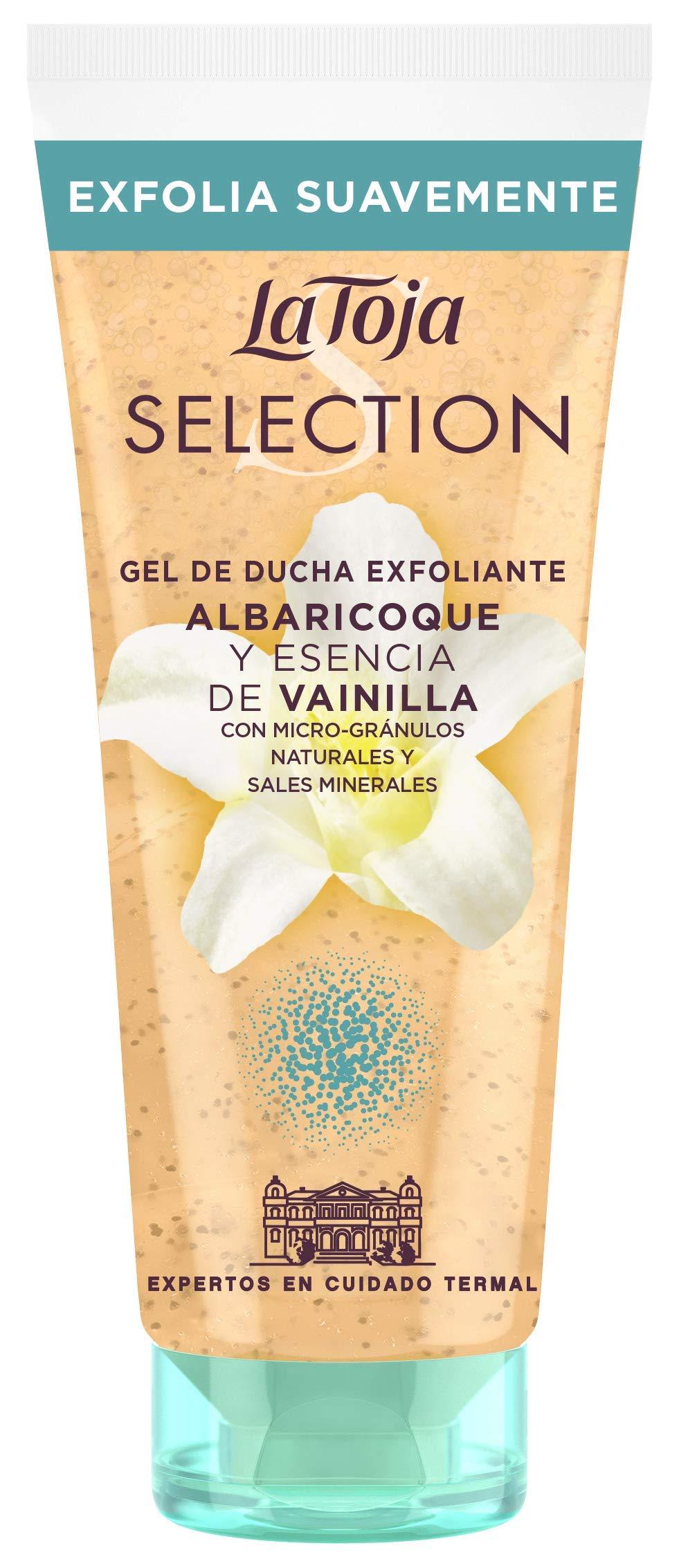 La Toja Selection – Gel de ducha Exfoliante con Sales Minerales – 200 ml