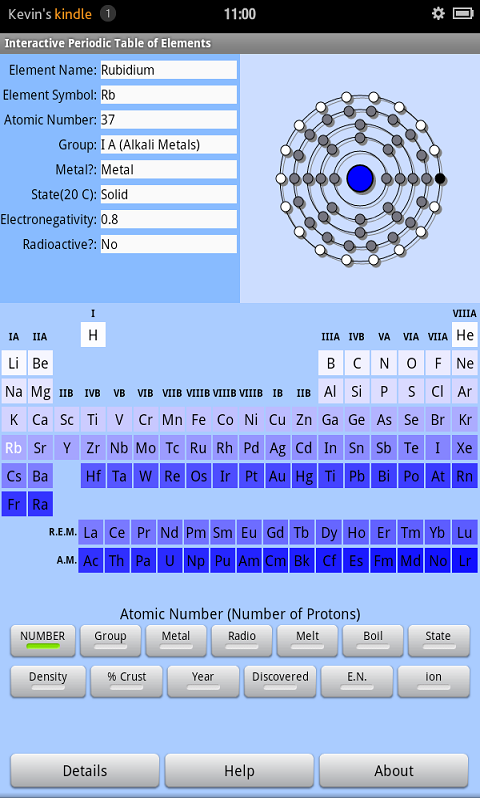 Interactive periodic table of elements amazon appstore for 000 urtaz Image collections