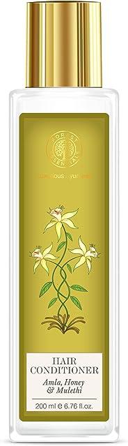 Forest Essentials Hair Conditioner, Amla, Honey and Mulethi, 200ml