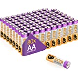 AA Batteries Pack of 80 1.5V / Mignon / LR06 / MN1500/ AM3 by GP Batteries AA Extra Alkaline Batteries ideal for: Toys/Contro
