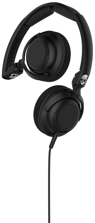 skullcandy lowrider dj style over ear headphones mic volume control black ebay. Black Bedroom Furniture Sets. Home Design Ideas