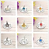 Booby Award Charms   Add-on Charms For Breastfeeding Keyrings And Necklaces   Nursing milestones   Copper boobies…