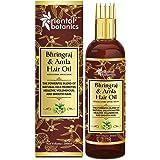 Oriental Botanics Bhringraj & Amla Hair Oil With Comb Applicator - Promotes Healthy, Voluminous & Smooth Hair, 200 ml