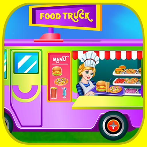 Street Food Kitchen Chef (Kid Carnival Games)