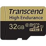Transcend Carte Mémoire microSDXC 32 Go Haute Endurance TS32GUSDHC10V