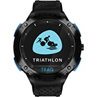 Traq by Titan Triathlon Running, Cycling, and Swimming GPS Unisex Smartwatch with Heart Rate Monitoring and Upto 7 Days…