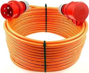 3,6€//m CEE TITANEX Verlängerungskabel MENNEKES Phasenwender 5G1,5 5x1,5 16A 10m