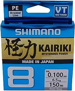 Shimano angel cuerda trenzada-kairiki 0,18mm gris-je 25m 0,09eur//m