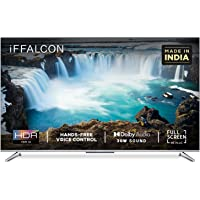 iFFALCON 139 cm (55 inches) 4K Ultra HD Smart Certified Android LED TV 55K71 (Sliver) (2021 Model)  With Voice Control