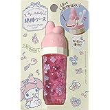 جراب Sanrio My Melody القابل للحمل مصنوع من القطن 3.2 × 10.4 سم حقائب مكياج للسفر (منفوشة)