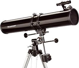 Celestron PowerSeeker 114 EQ – 114/900 Spiegelteleskop