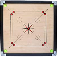 Sportif Carrom Board Full Size with Coins, Striker and Carrom Powder ( 32 Inch Large )