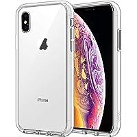 JETech Cover Compatible iPhone XS, Compatible iPhone X, Custodia Case con Paraurti Assorbimento degli Urti e Anti…