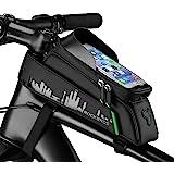 """ROCKBROS Fahrrad Rahmentasche Fahrradtasche Wasserdicht Handytasche Touchscreen für Handys bis zu 6,0"""" iPhone X XS Max 7 8 Pl"""