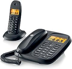 Motorola Corded & Cordless Phone Combo Cl101|Black