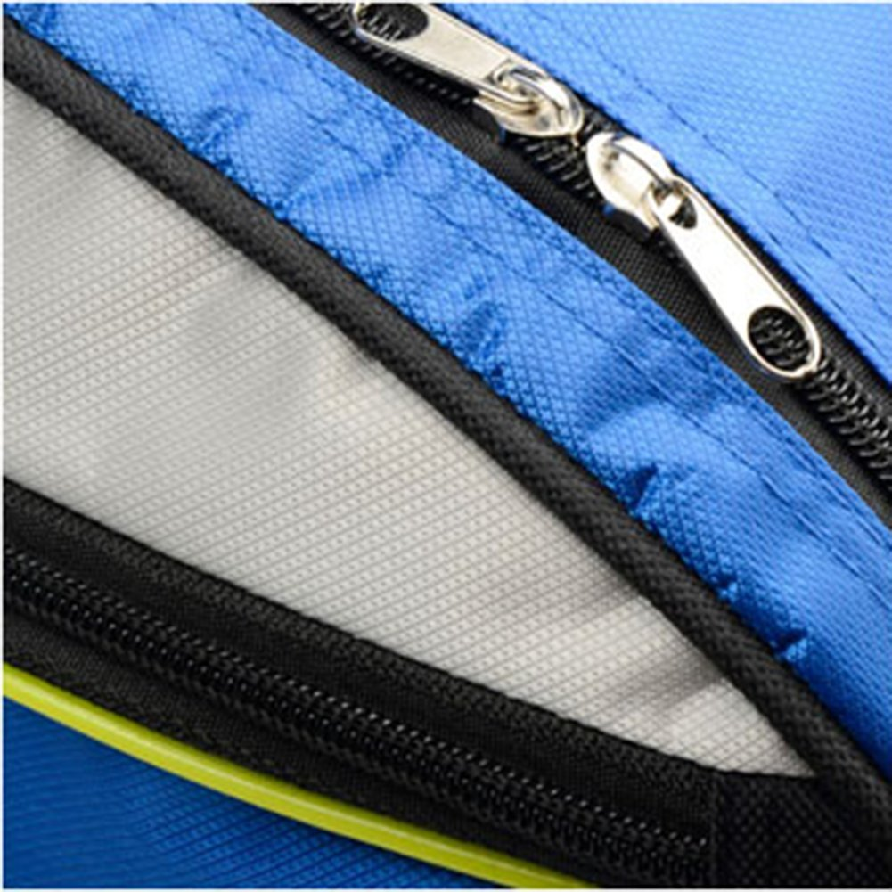 senston 6X Bolsa de Tenis Bag Badmintontasche Unisex Raqueta de B/ádminton Bolsa Sports Racket Bag Squash Tasche,Negro//Azul//Rojo