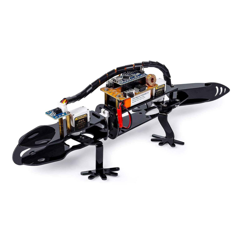 Arduino Robot Kit Bionic Programmable - SunFounder DIYRobot Lizard Visual  Programming for Beginners STEM Education IR Receiver Module Electronic Toy