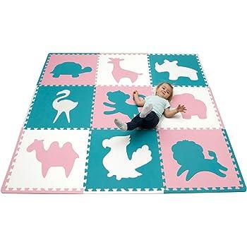 Large Foam Play Mat For Babies 1 8x1 8m 9 Interlocking