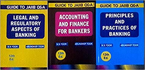 Guide To JAIIB Legal Aspects Principles Of Banking & Accounting: Set Of 3 Books Paperback (English) 2017 EDITION