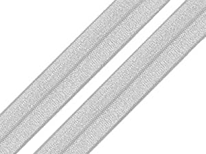 Farbe:aquablau maDDma 1m Falzgummi 20mm Faltgummi elastisches Einfassband Schr/ägband Saumband Farbwahl