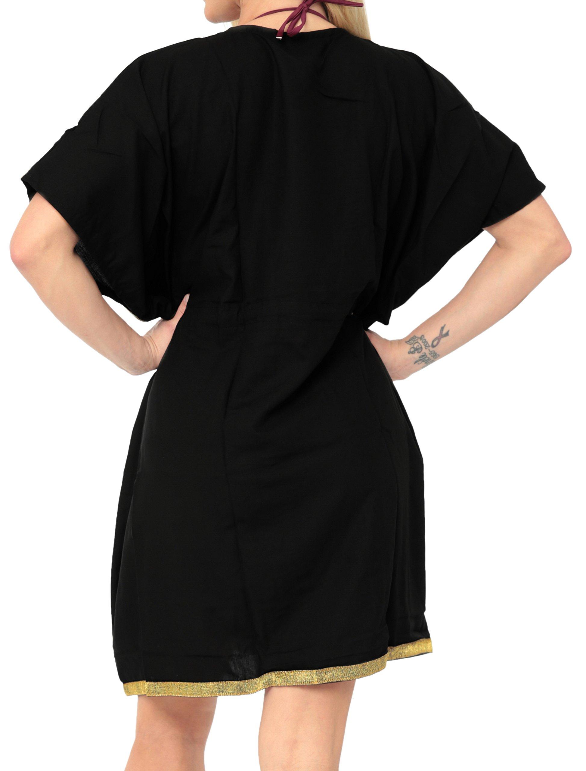 LA LEELA Copricostume Mare Cardigan Donna Taglie Forti- Vintage Rayon Estivo Scialle Elegante Solido Kimono Vestito… 2 spesavip