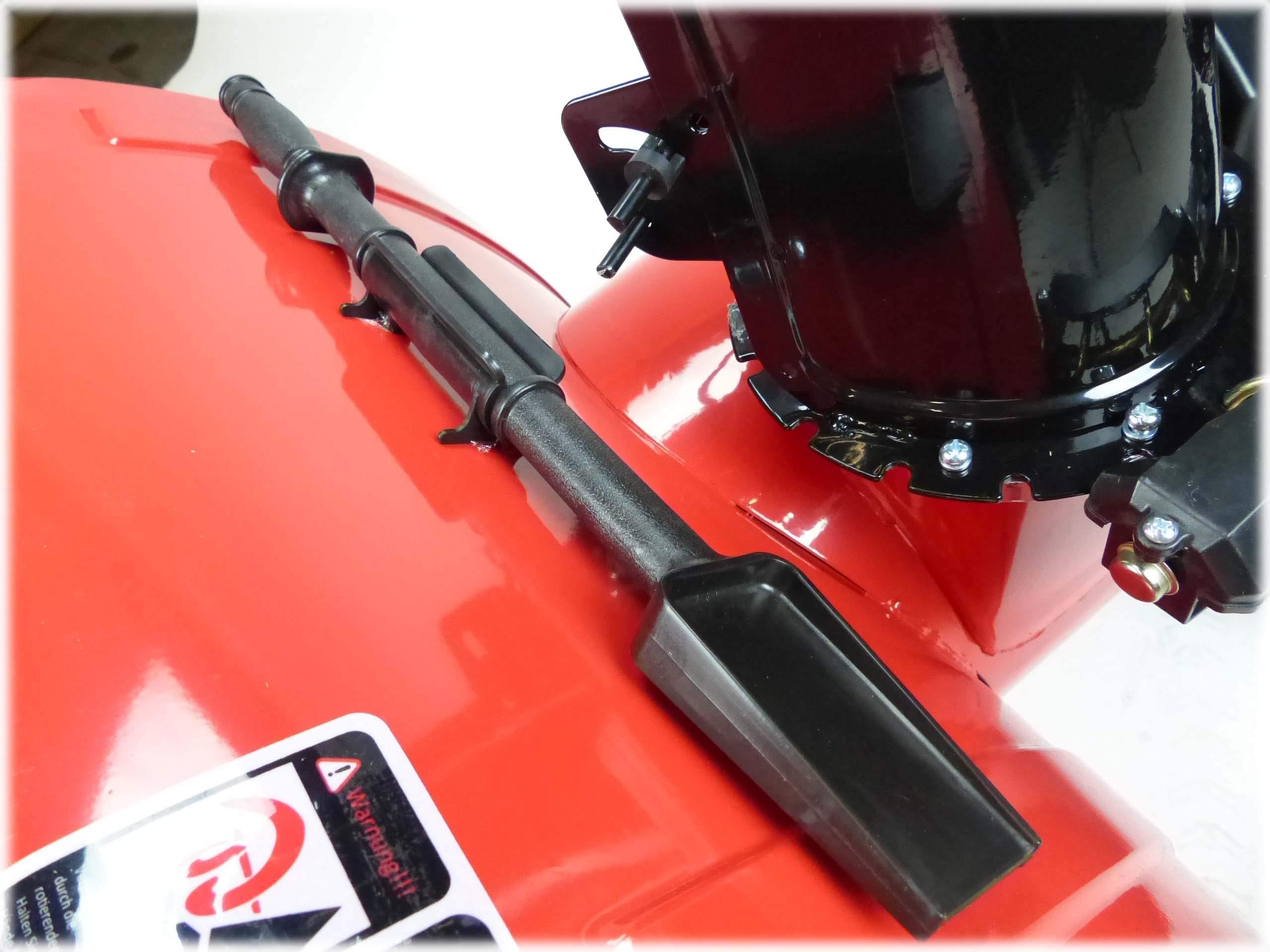 Benzin Schneefräse KW624 Elektrostarter 6,5PS Schneeräumer Schneefeger
