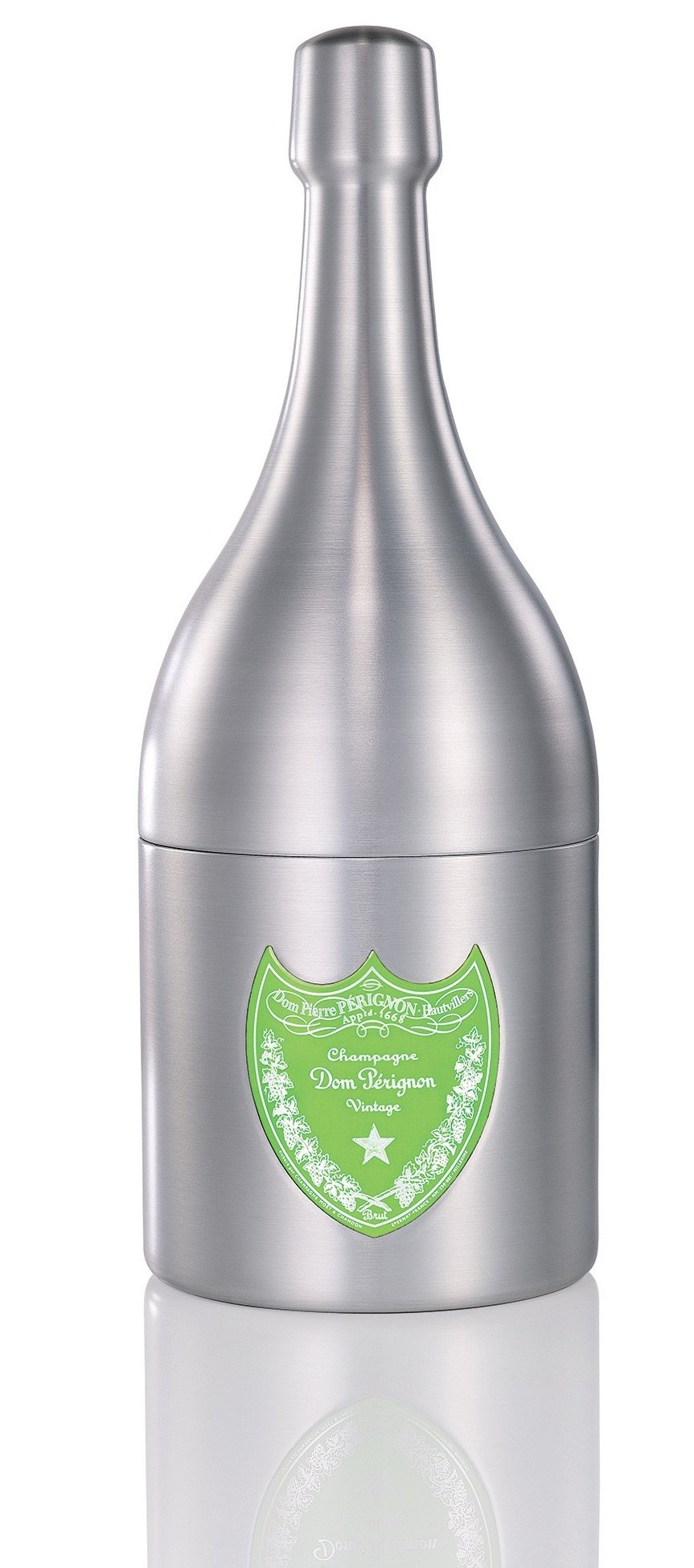 Dom Perignon Champagne Cooler Design by Marc Newson 2nd Season Green Bottle Bucket Ice Bucket Ice Bucket Container