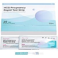 Femometer 25 x Schwangerschaftstest 25 miu/ml frühtest, optimaler Sensitivität, hcg sst, 3,5 mm breit