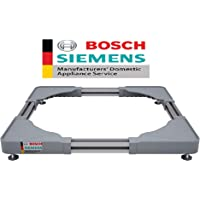 Bosch Siemens Original Adjustable Pedestal for All Front Load Washing Machine (Washing Machine Stand)