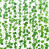 SOMONEY Lierre Artificielle Plantes Guirlande Vigne 15 Pack 105 Ft Exterieur Lierre Artificielle Guirlande Décoration pour Cé