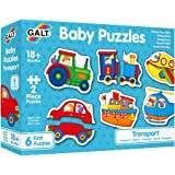 Galt Toys, Baby Puzzles - Transport, Jigsaw Puzzles for Kids, Ages 18 Months Plus