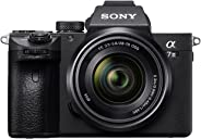 Sony Alpha ILCE-7M3K Full-Frame 24.2MP Mirrorless Digital SLR Camera with 28-70mm Zoom Lens (4K Full Frame, Real-Time Eye Aut