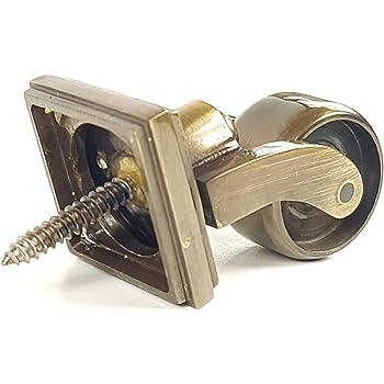 Bulk Hardware BH01575 Roue pivotante coupelle Laiton