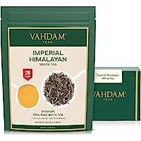 Tè bianco imperiale dell'Himalaya in foglie – Il tè più sano al mondo, ricco di POTENTI ANTIOSSIDANTI, raccolto fresco a…