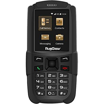 3299b8efb The New RugGear RG129 Compact Outdoor and Waterproof Mobile Phone - Dual SIM