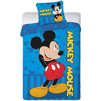 Disney 066 Micky Maus Baby Wende Bettwäsche Set 100 X 135cm Amazon