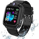 kids Smartwatch Phone per Bambini Impermeabile, Orologio Smart Phone LBS Anti-perso con Chat Vocale, Sveglia SOS per il Gioco
