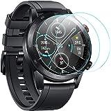 CAVN Proteggi Schermo Compatibile con Honor Magic Watch 2 46mm Pellicola Protettiva [3-Pezzi], Protezione Schermo in Vetro Te
